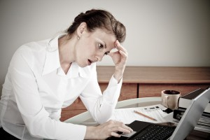 woman frustrated by chapter 7 bankruptcy