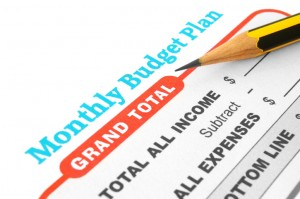 Avoiding Bankruptcy with a Monthly Budget Plan