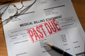 past due medical bills and medical debt