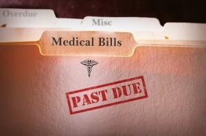 past due medical bills