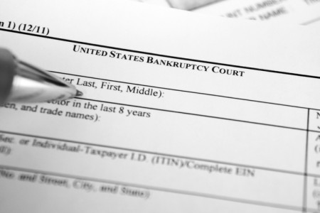 chapter seven bankruptcy filing form