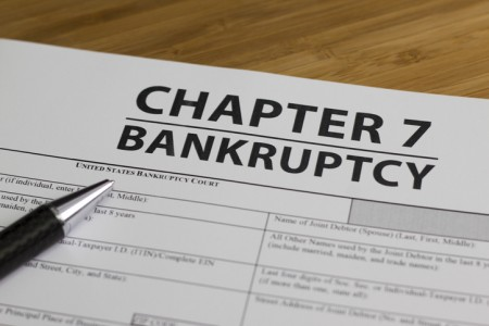 Documents for filing bankruptcy Chapter 7