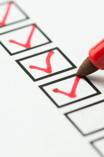 filing bankruptcy checklist